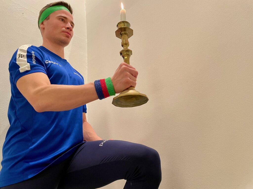Den olympiske fakkel bæres ind - Aktiviteter for børn og voksne
